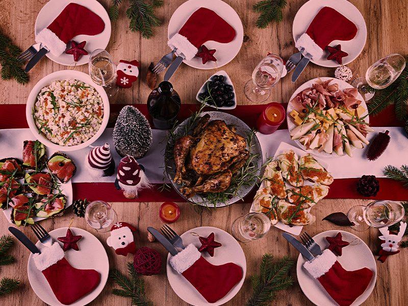 Cuidados com a digestão na ceia de Natal